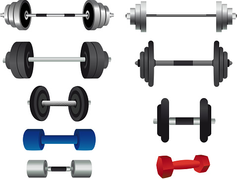 Strength Training Equipment and weight lifting GYM