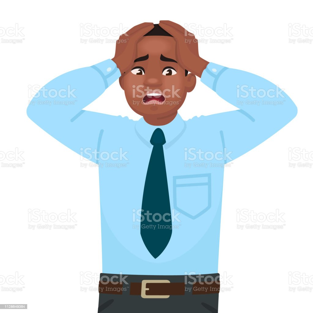 Anxiety And Work stress and anxiety at work an african american male office