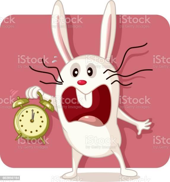 Stressed bunny with alarm clock vector vector id663856184?b=1&k=6&m=663856184&s=612x612&h=phicrzjzclpmt7icjvu3cia62 dpvuyg500vhxzdrqk=