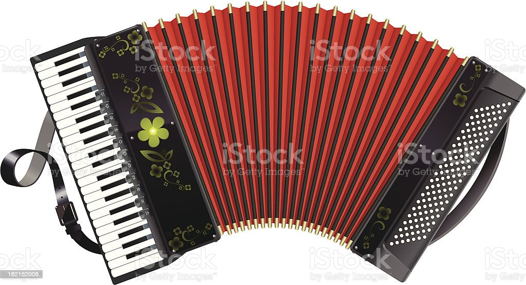 royalty free accordion clip art vector images illustrations istock rh istockphoto com piano accordion clipart accordion player clipart