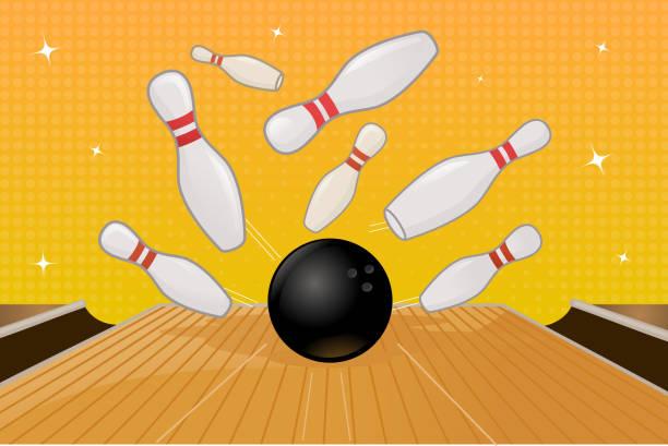 Strike vector art illustration
