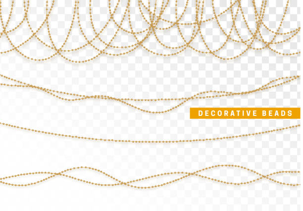 Best String Of Pearls Illustrations Royalty Free Vector