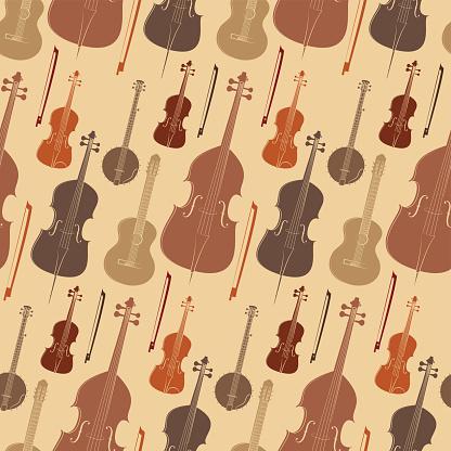 String instruments pattern