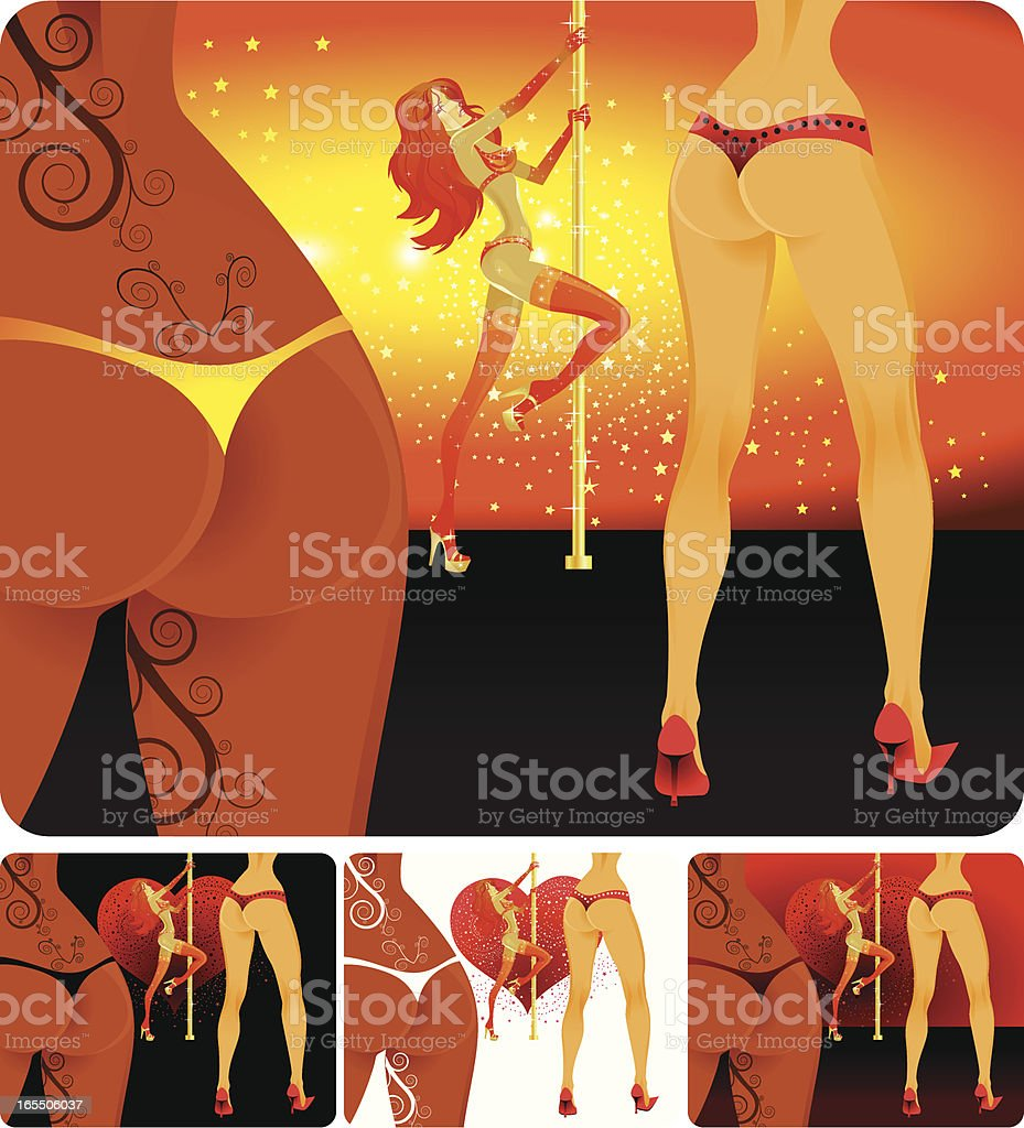 Stripclub royalty-free stripclub stock vector art & more images of adult