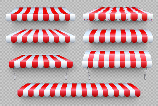 Awning Illustrations, Royalty-Free Vector Graphics & Clip ...