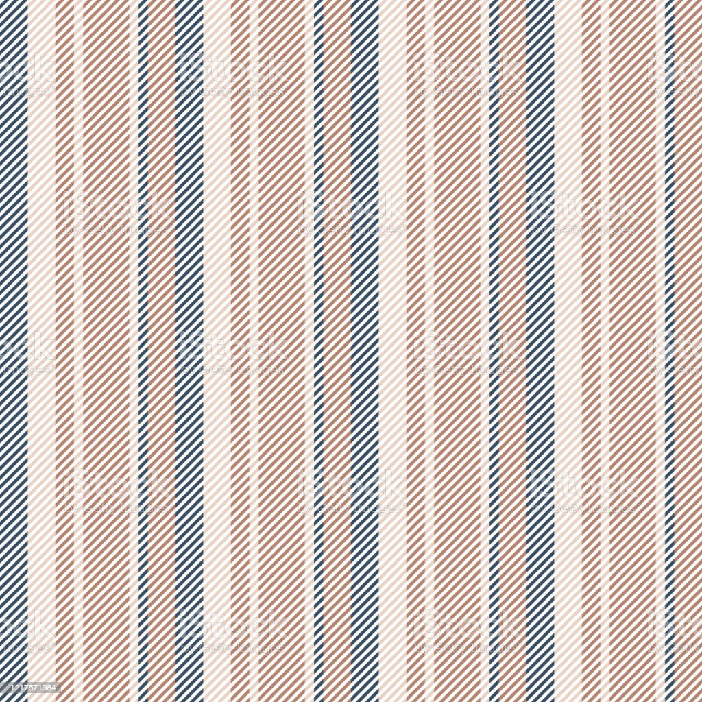 Stripe Pattern Seamless Abstract Vertical Lines In Brown Beige Blue White For Summer Autumn Winter Dress Bed Sheet Trousers Bag Or Other Modern Fashion Or Home Textile Design Stock Illustration Download