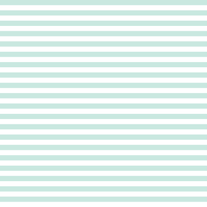 Stripe seamless pattern in pastel mint color