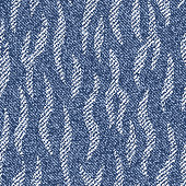 Striped Camouflage Jeans background. Denim seamless pattern. Blue jeans cloth.
