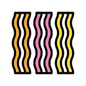 striped, candy related sweet, and candy vectors, with editable strokes,