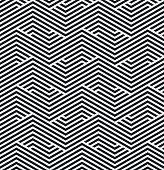 striped geometric pattern