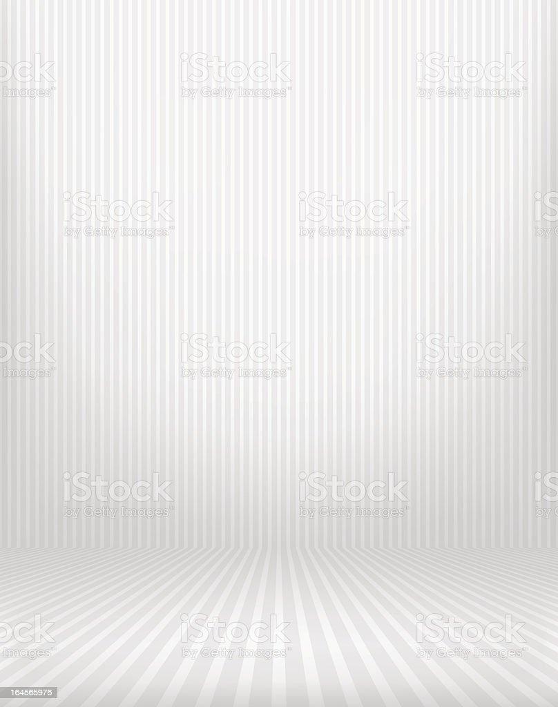 Striped interior vector art illustration