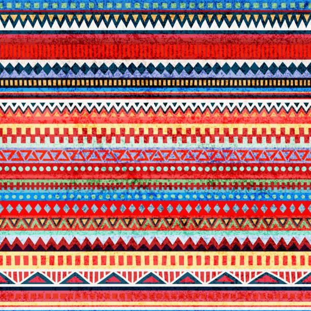 條帶無縫模式。民族和部落的主題。 - africa 幅插畫檔、美工圖案、卡通及圖標