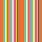 Colorful line vector background. Cheerful colors with fun stripes
