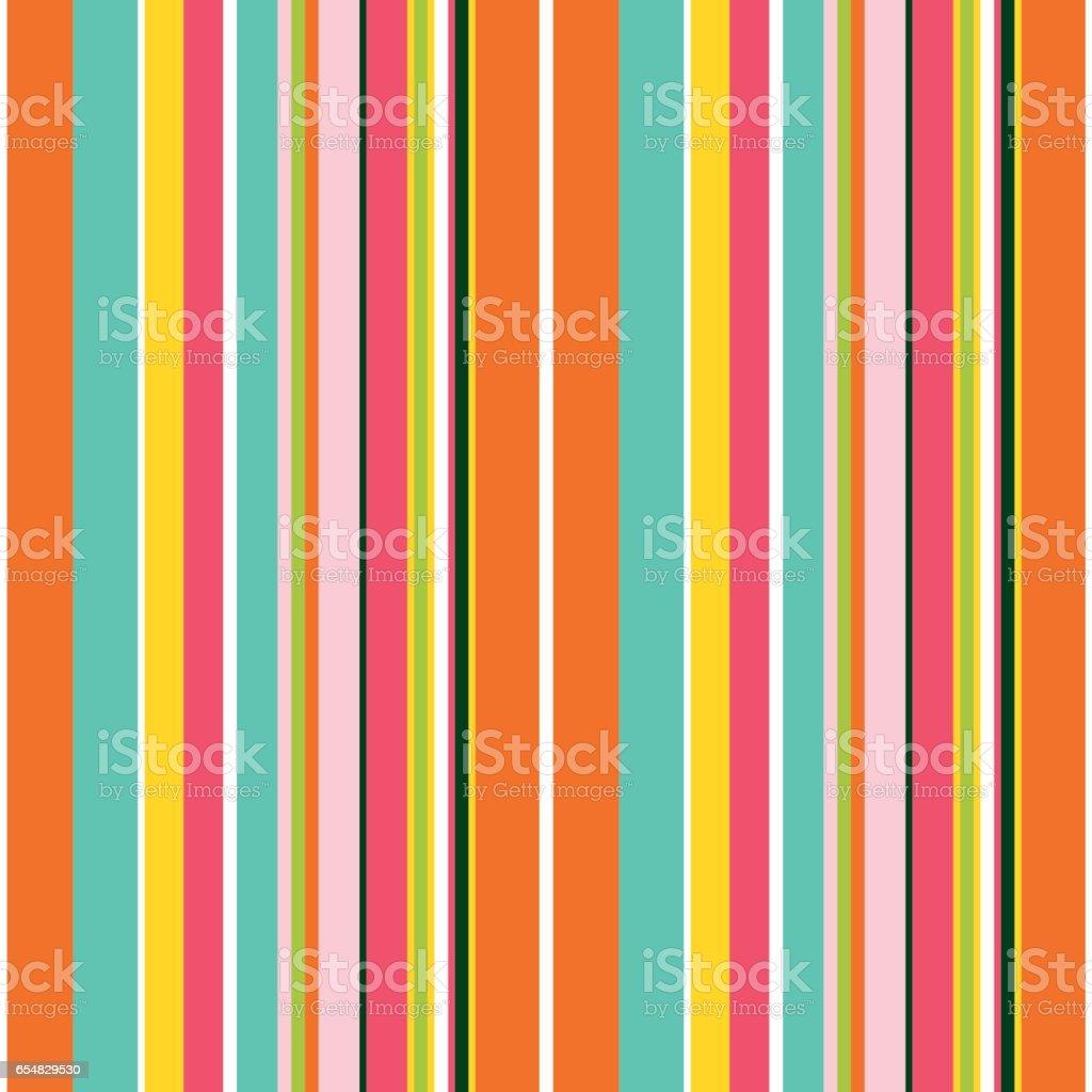 Striped seamless pattern. vector art illustration