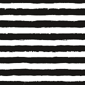 Stripes Pattern from Brush Strokes