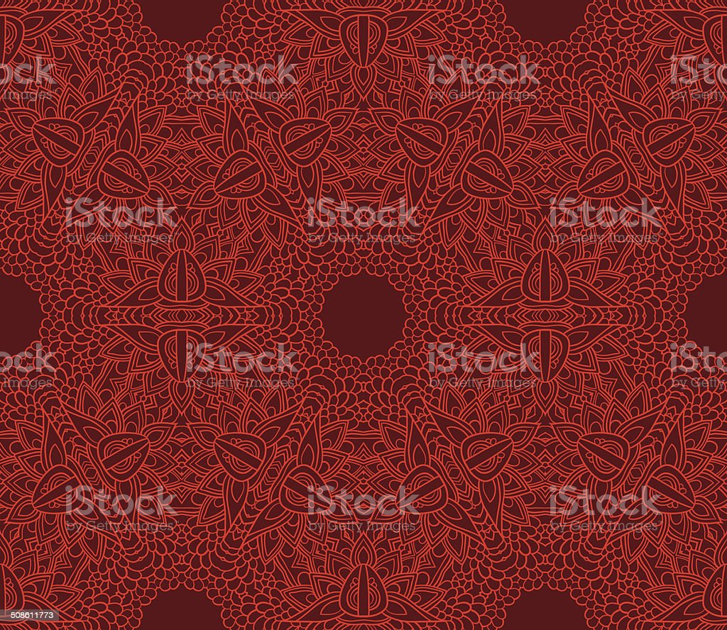 Stroke flower pattern royalty-free stroke flower pattern stock vector art & more images of abstract