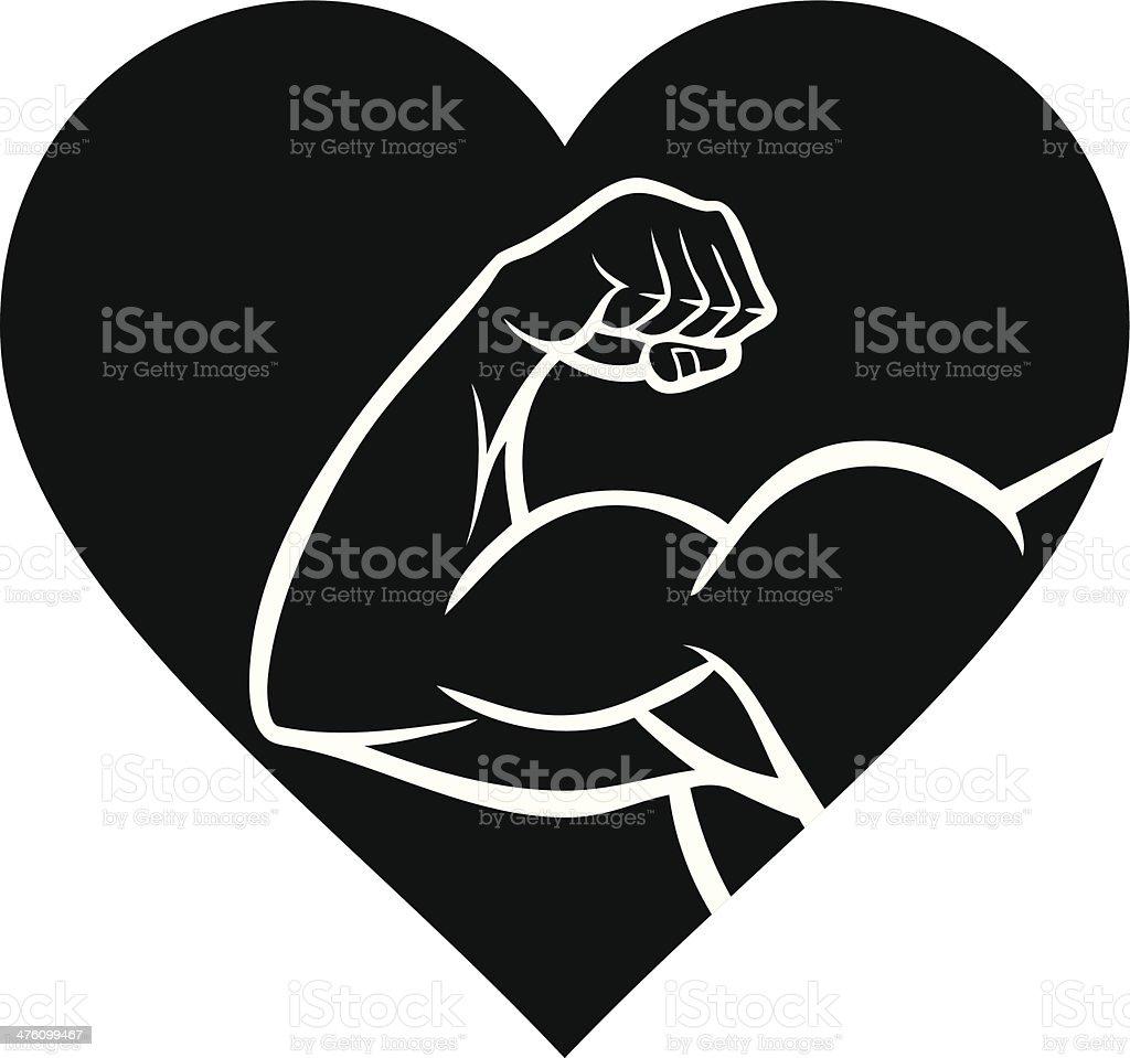 Strong Heart Cartoons Illustrations, Royalty-Free Vector..