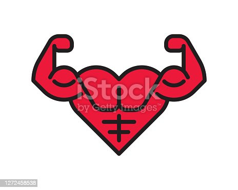 istock Strong Heart 1272458538