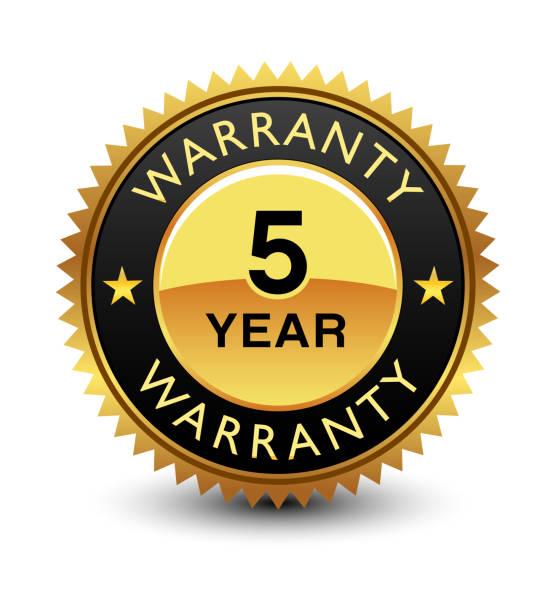 5 Year Warranty Vector Art & Graphics | freevector.com