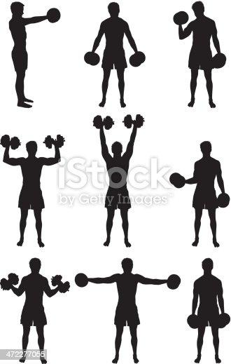 Strong man lifting heavy dumbbellshttp://www.twodozendesign.info/i/1.png