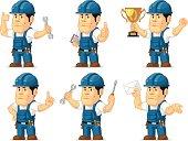 Strong Technician Mascot 3