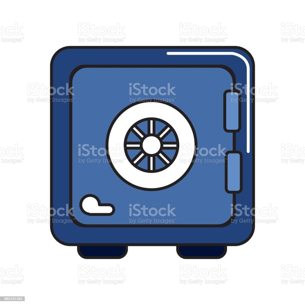 strongbox close to security of special thing royalty-free strongbox close to security of special thing stock vector art & more images of accessibility