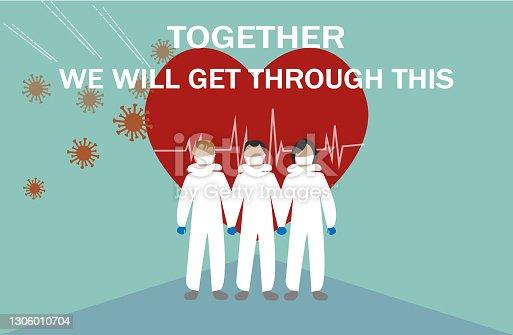 Stronger Together,Coronavirus outbreak.