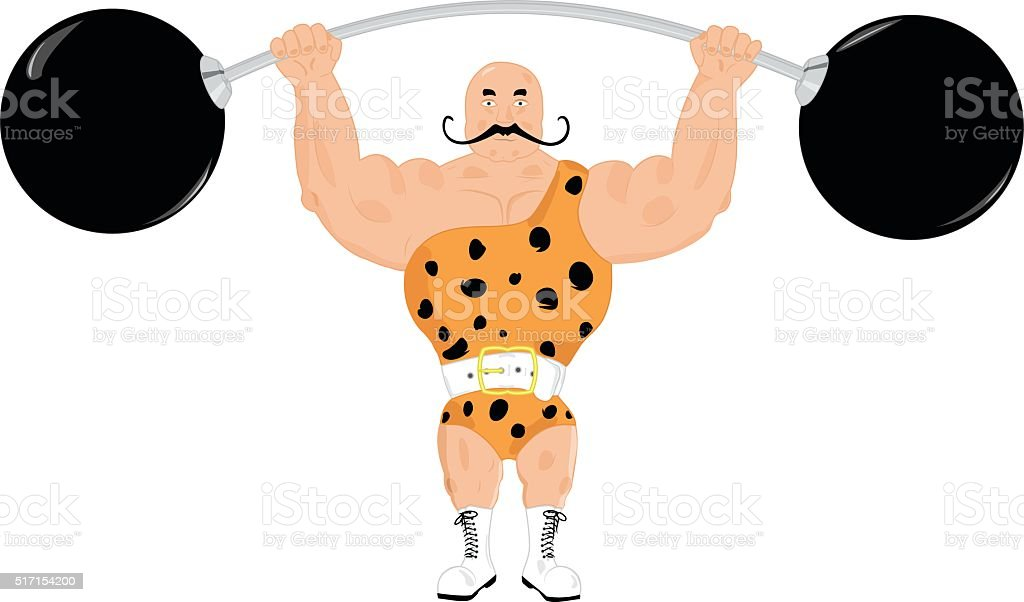 royalty free strongman clip art vector images illustrations istock rh istockphoto com Strong Person Clip Art strong man clipart free