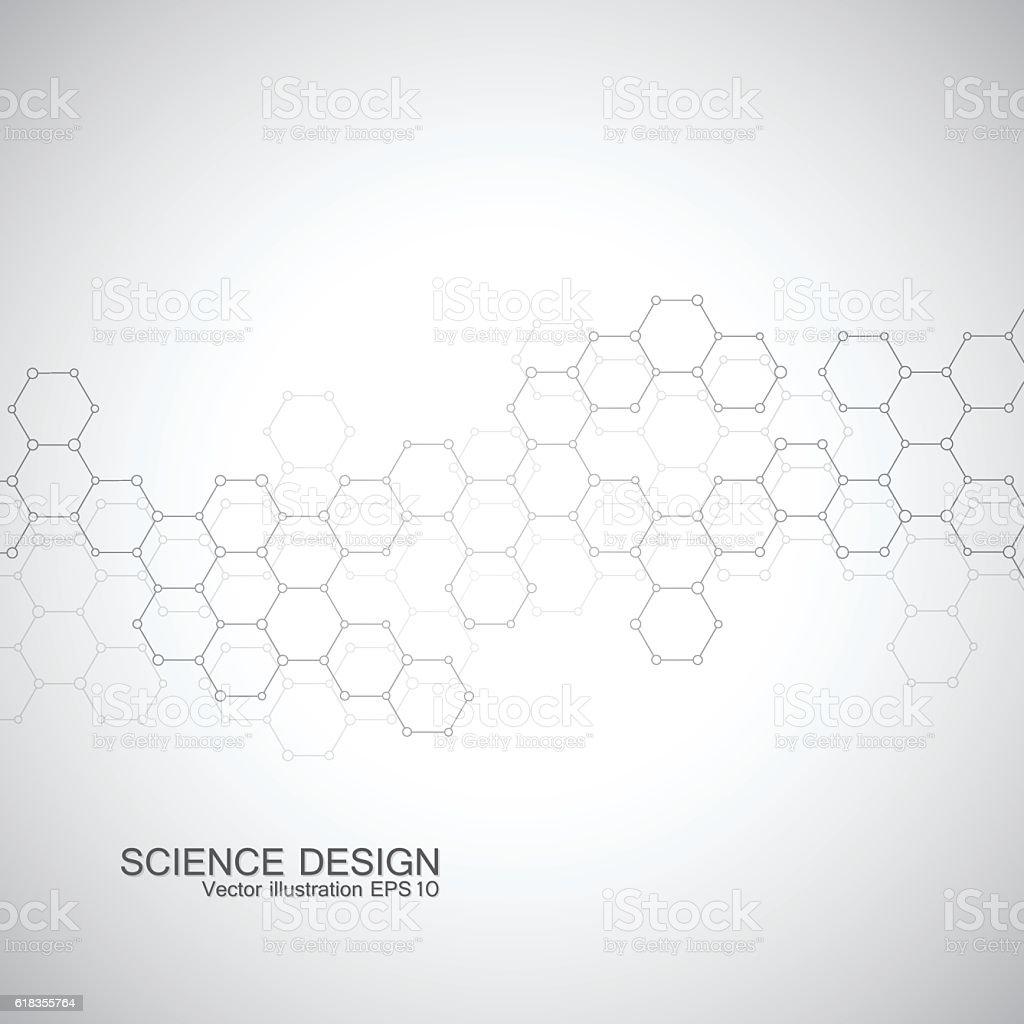 Struktur Von Dnamolekül Und Ein Weiteres Strukturelle Atom