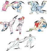 Struggle and Fighting Sports