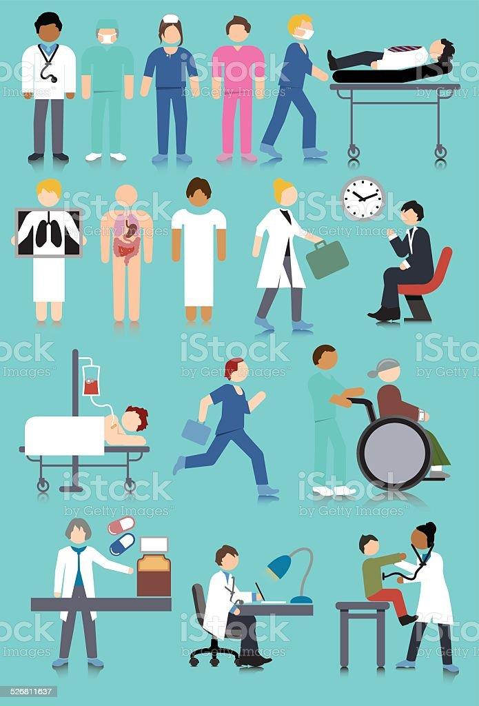 STS_Medical_16907195_(11) vector art illustration