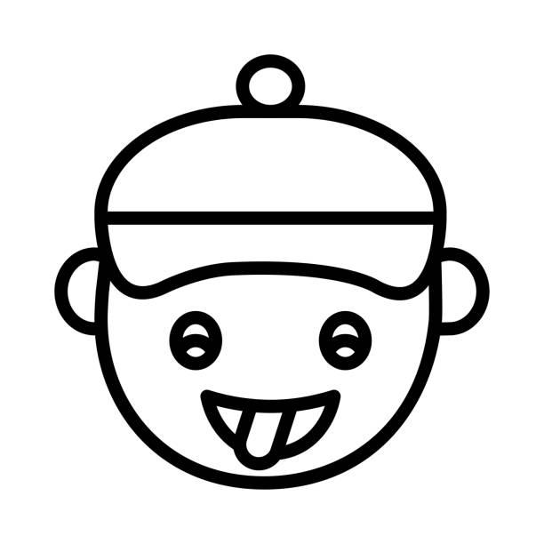 verrückte emoji ragten - feststecken stock-grafiken, -clipart, -cartoons und -symbole