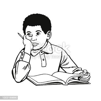 istock Student Doing Homework 1003199880