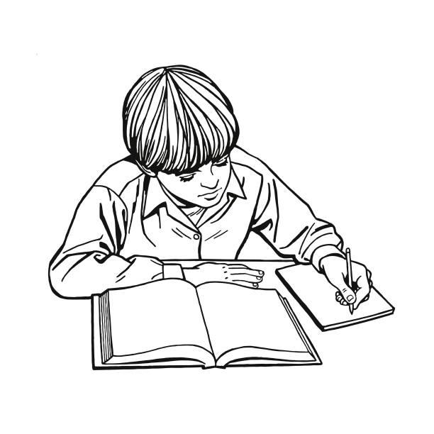 Best Homework Little Boys Black And White Book