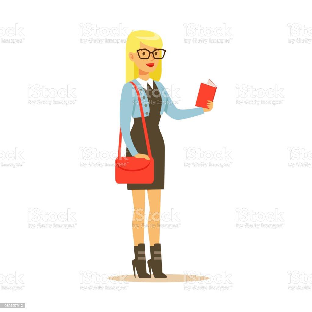 Student lifestyle colorful character vector Illustration isolated royaltyfri student lifestyle colorful character vector illustration isolated-vektorgrafik och fler bilder på bok - tryckt media