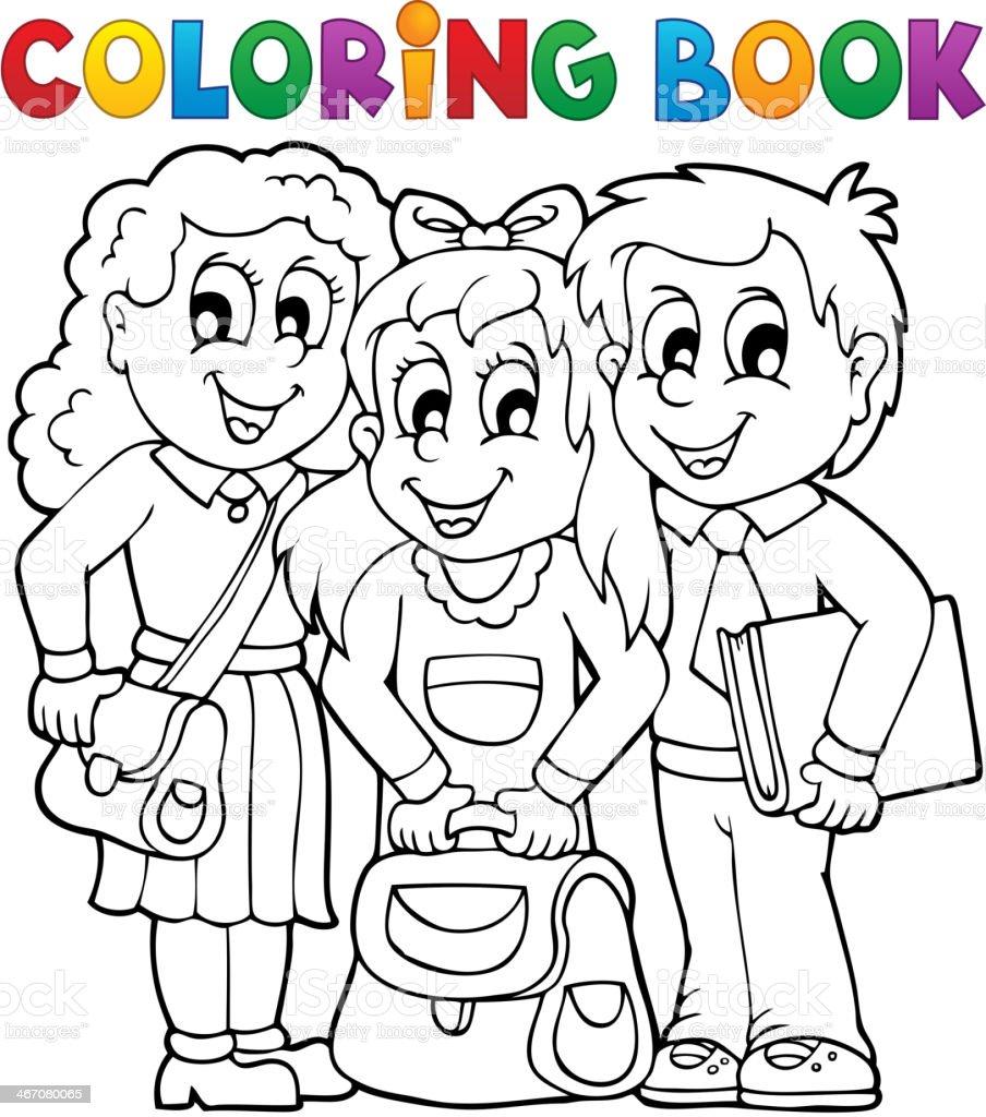 Ilustración de Estudiante Con Ilustración Vectorial Libro Para ...