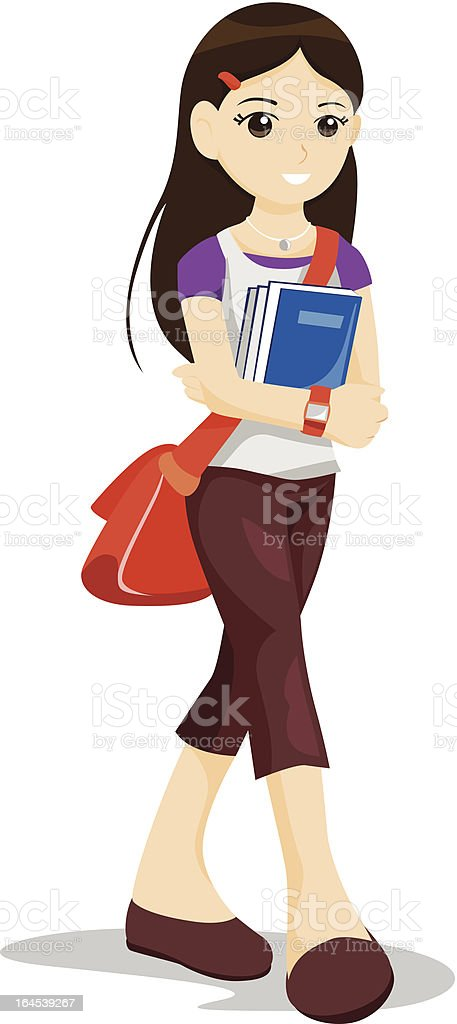 Student royalty-free student stock vector art & more images of 12-13 years