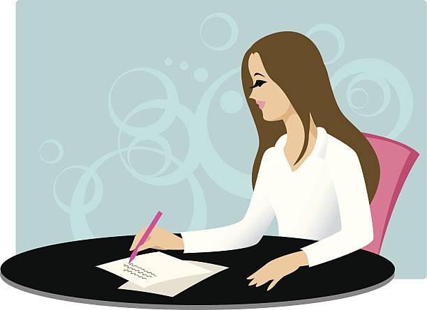student - buchstabenschreibweise stock-grafiken, -clipart, -cartoons und -symbole