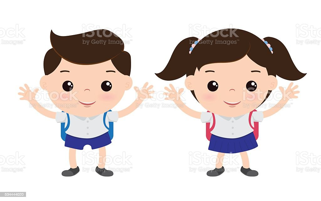 royalty free thailand student clip art vector images rh istockphoto com clipart students in classroom clip art students with disabilities