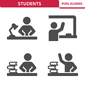 Students Icons