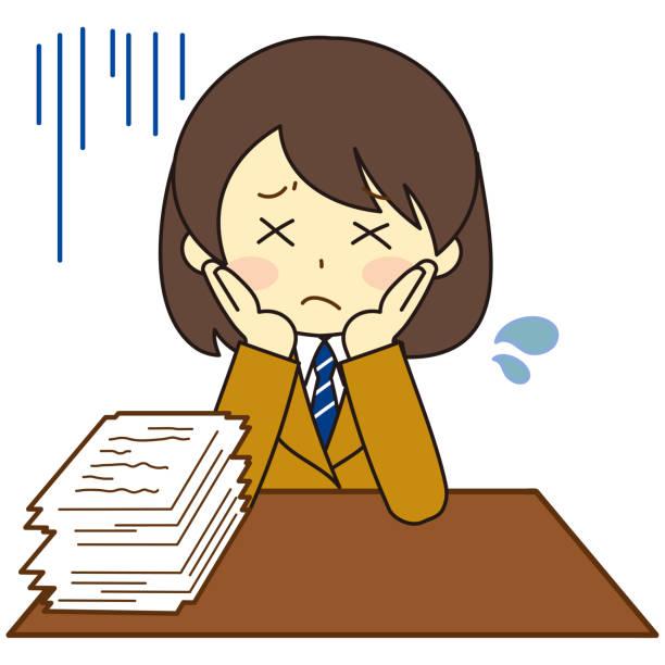 illustrazioni stock, clip art, cartoni animati e icone di tendenza di studenti in uniforme seduti - esame maturità