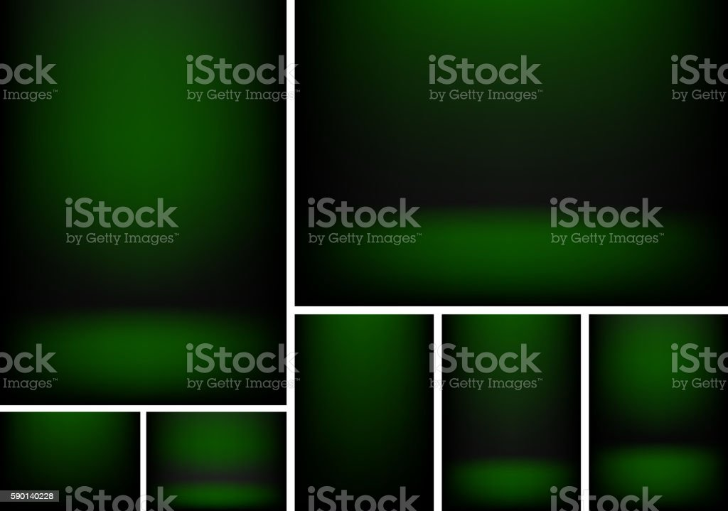 Studio light background vector art illustration