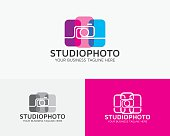 Studio Photo Vector Logo