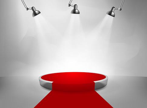 studio red carpet
