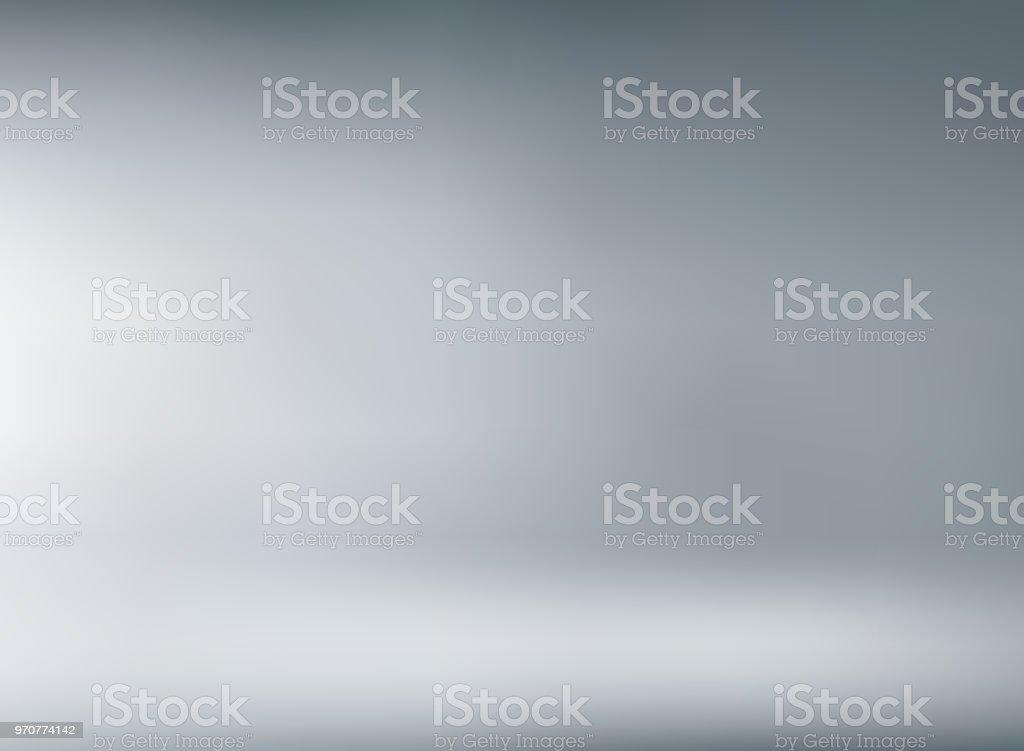 Studio room gray background with soft lighting. studio room gray background with soft lighting - immagini vettoriali stock e altre immagini di accendere (col fuoco) royalty-free