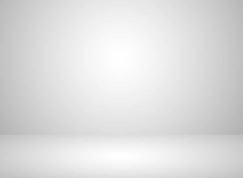 Studio room interior white color background with lighting effect clipart
