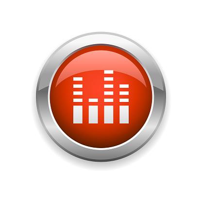 Studio Sound Mixer Glossy Icon