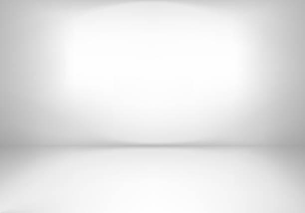 Studio Gray empty room studio. Abstract light background. no people stock illustrations