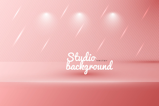 Studio wall textured with lights background