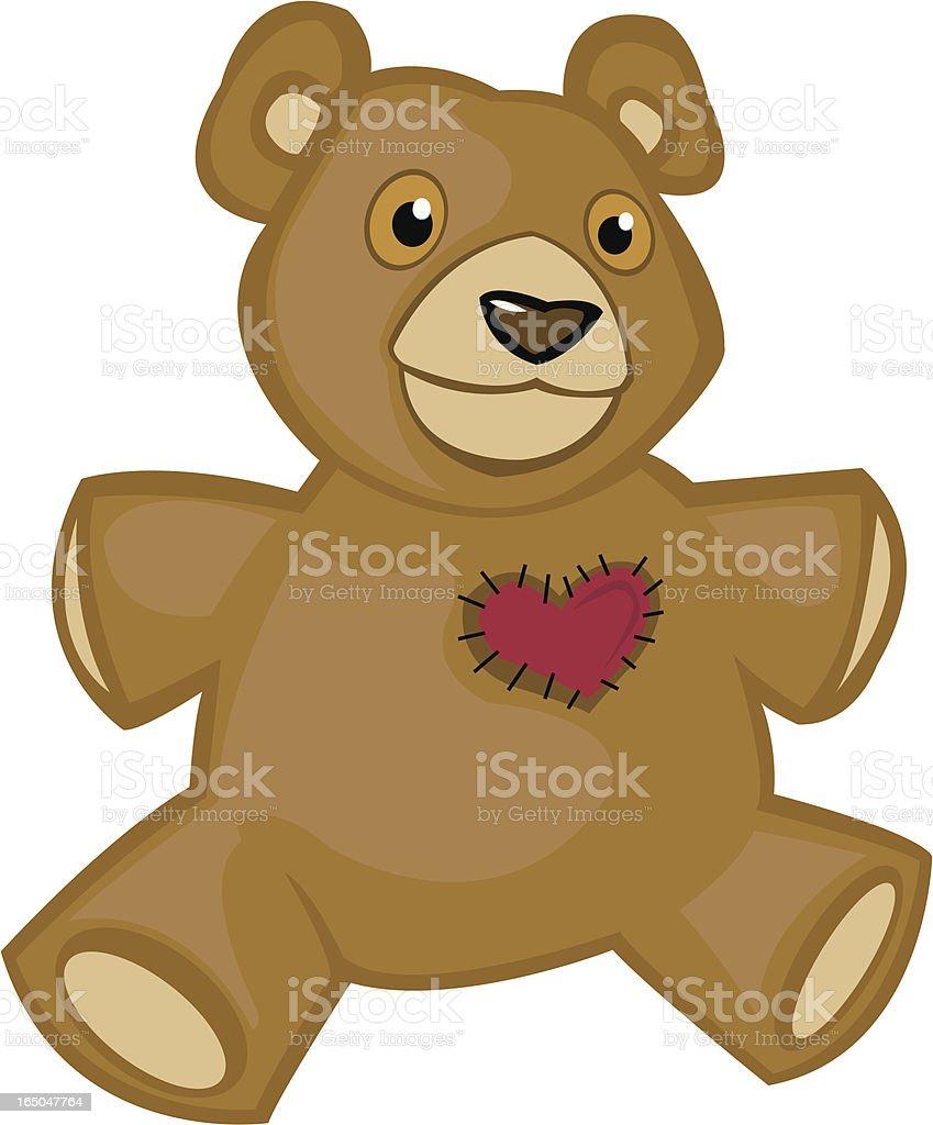 Stuffed Teddy Bear royalty-free stuffed teddy bear stock vector art & more images of animal